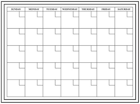 24x18 large monthly dry erase calendar wall calendar