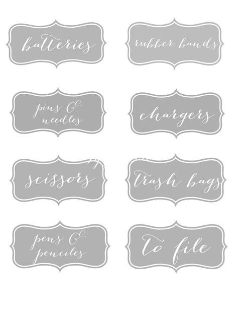 sweet savannah  printable labels