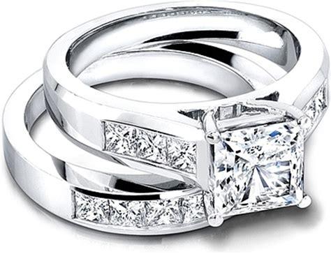 jeff cooper wide channel set princess cut engagement ring