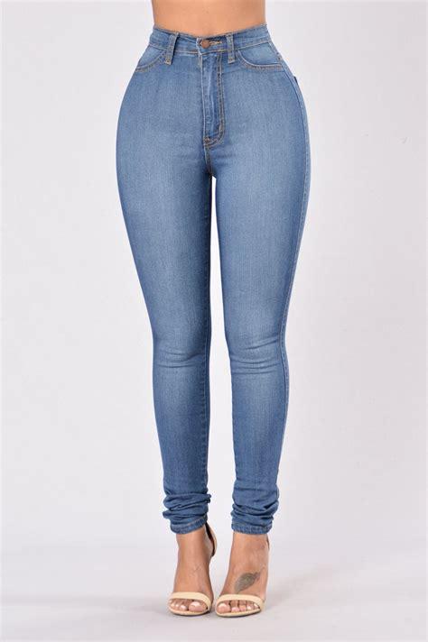 Highwaist Blue classic high waist medium blue
