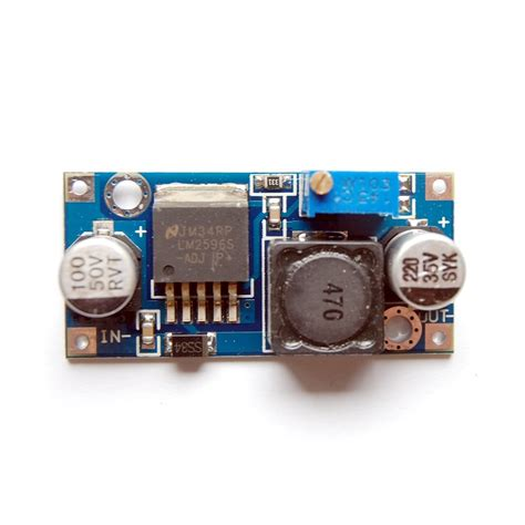 Lm2596 Adjustable Dc Dc Stepdown Module lm2596 adjustable step power module dc dc converter uugear