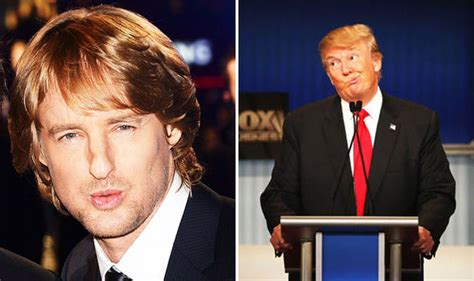 actor similar to owen wilson donald trump movie nine actors who could play the