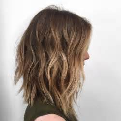 medium length hair with ombre highlights 10 hottest lob haircut ideas popular haircuts