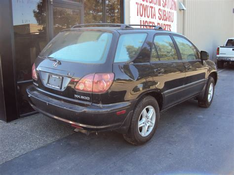 lexus models 2000 2000 lexus rx300 model suv 3 0l v6 at awd color black