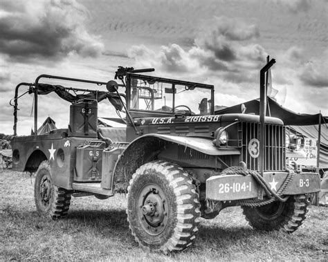 ww2 jeep front ww2 willys jeep fine art black and white photograph