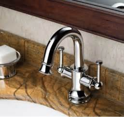 chrome finish two handles single mount mixer taps