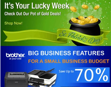 st patricks day freebies 2014 coupon codes sales newegg ca online offers save up to 70 on selected items