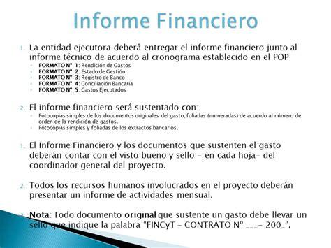 como hacer un reporte financiero de la iglesia presentaci 243 n de informes financieros y t 233 cnicos ppt