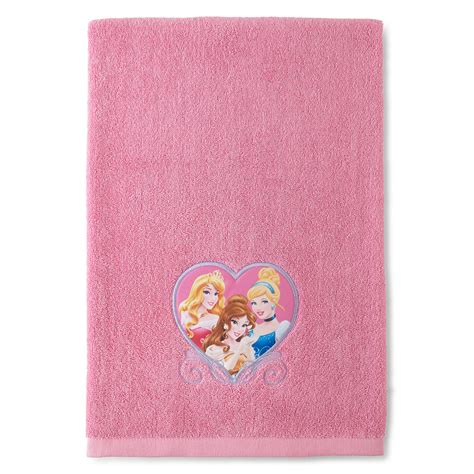 Disney Princess Bath Towel Pink disney princess bath towel shop your way