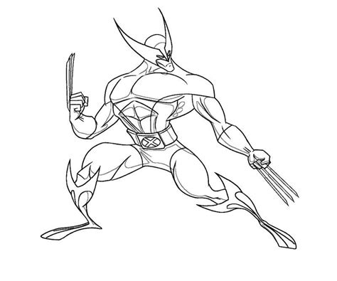 free spiderman wolverine coloring pages