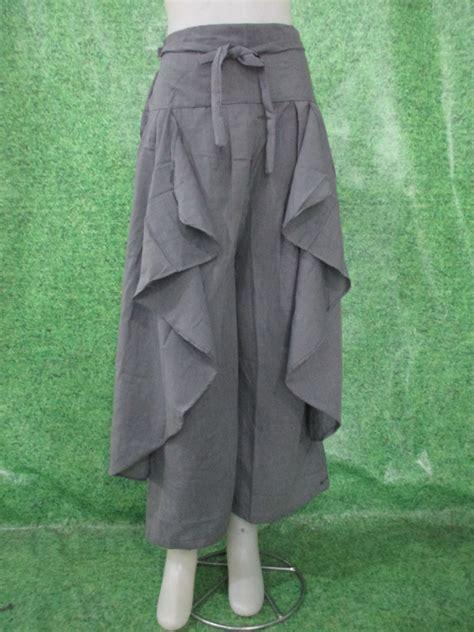 Kulot Katun Jepang celana kulot dianapusat grosir mukena katun jepang murah