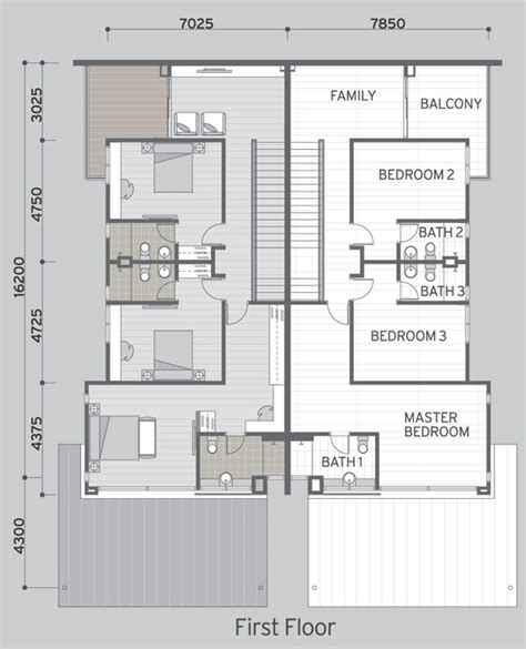 layout plan malaysia semi detached house plans malaysia