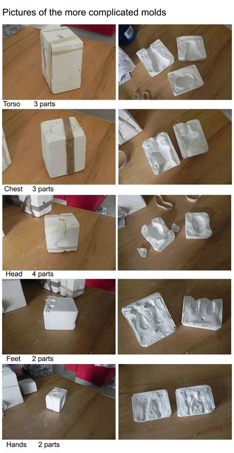 artistic guide to molds with urethane books 1000 ideas about mold on silicone