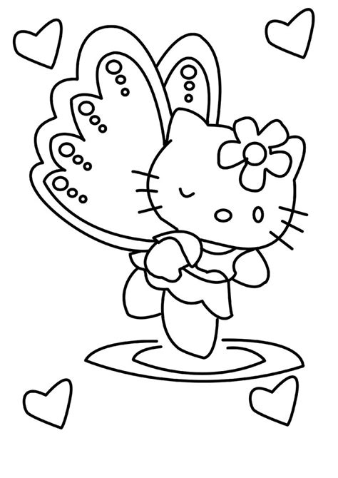 hello kitty angel coloring pages 620 best images about a crafts hello kitty color on