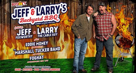 Backyard Bbq Larry The Cable Eddie Money Foghat Part Of Comedy Festival The
