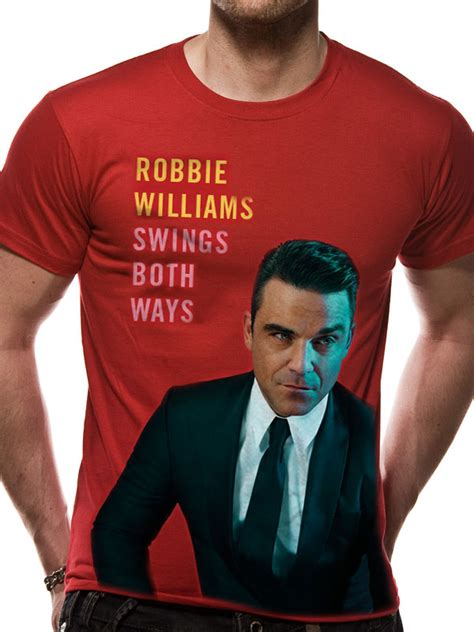 swings both ways robbie williams swings both ways t shirt tm shop