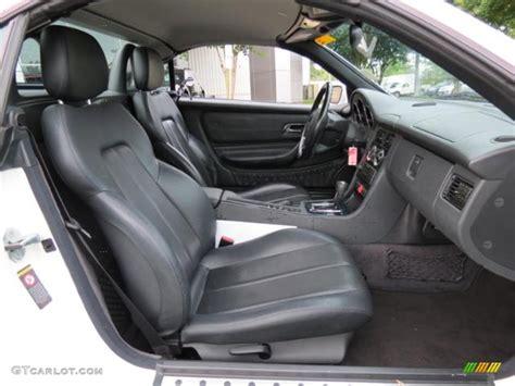 Mercedes Slk 230 Interior by 2000 Mercedes Slk 230 Kompressor Roadster Interior