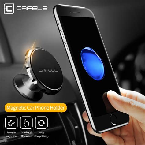 cafele  style magnetic car phone holder stand  iphone    samsung  air vent gps