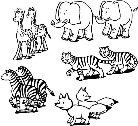coloring pages animal coloring pages preschoolers animal