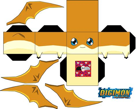 Digimon Papercraft - patamon papercraft digimon photo 35315574 fanpop