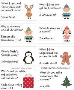 christmas cracker jokes to print free printable jokes these are holidays