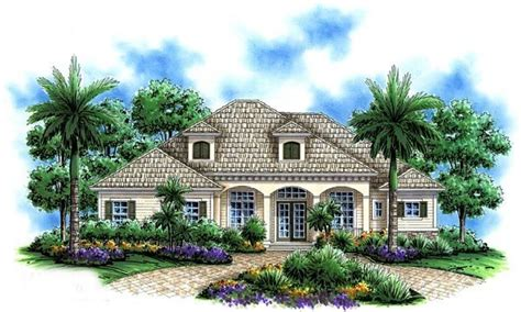 Home Plans Florida by Florida Mediterranean House Plans One Story Mediterranean