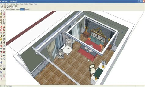 make a room layout making of hotel room sketchup 3d rendering tutorials by
