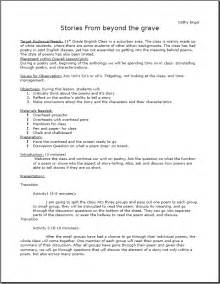 Theme of the day free lesson plans for english
