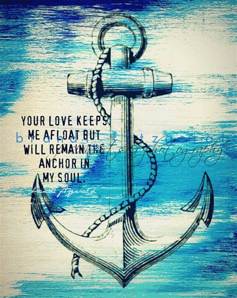 anchor in my soul nautical decor love marriage inspiration