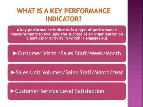 Kpi For Sales Mba by Management Key Performance Indicators For Sales Teams