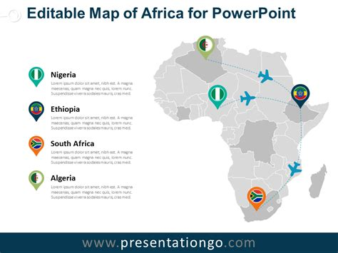 free powerpoint world map