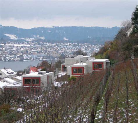 luxury concrete fortress on lake zurich switzerland we