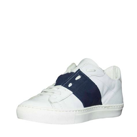Sneakers Shoes E scarpe uomo sneakers basso bicolore bianco stringhe