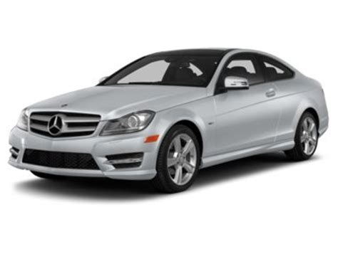 2013 mercedes benz c class c250 coupe ratings, prices