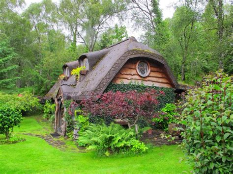 hobbit house somewhere in the highlands scotland