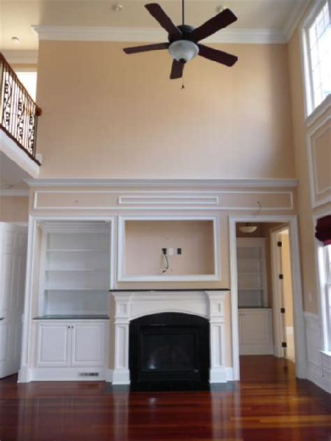 view post fireplace accent wall