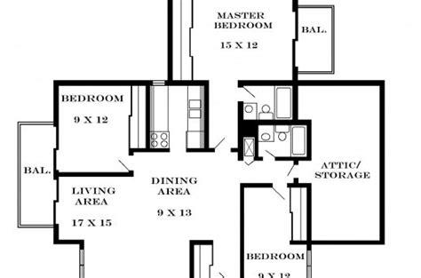 3 bedroom flat floor plan 3bedroom floor plan in nigeria house floor plans