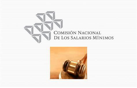 salarios minimos se encuentra desactualizada o con datos erroneos sua marco jur 237 dico de la conasami comisi 243 n nacional de los