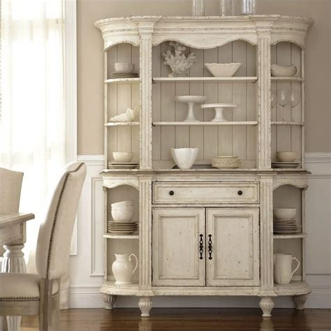 kitchen buffet hutch furniture riverside furniture coventry two tone china cabinet in dover white 32555 32556 kit
