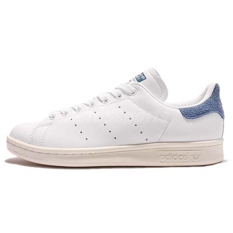 adidas classic shoes adidas originals stan smith w leather white blue