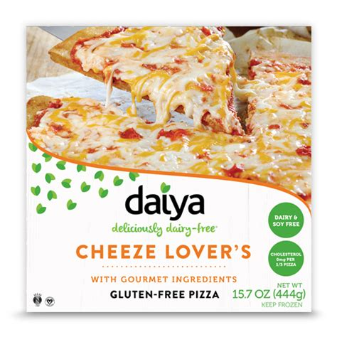 Cheeze Lover?s Pizza   Daiya Foods, Deliciously Dairy Free