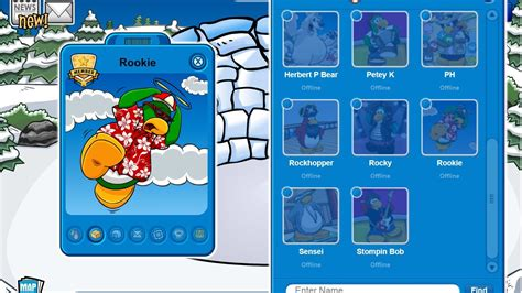Cp Find Me Navi Rd51 1 club penguin add mascots without meeting them
