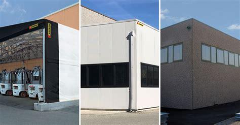 prefabbricati per capannoni industriali kopron capannoni coperture baie di carico portoni