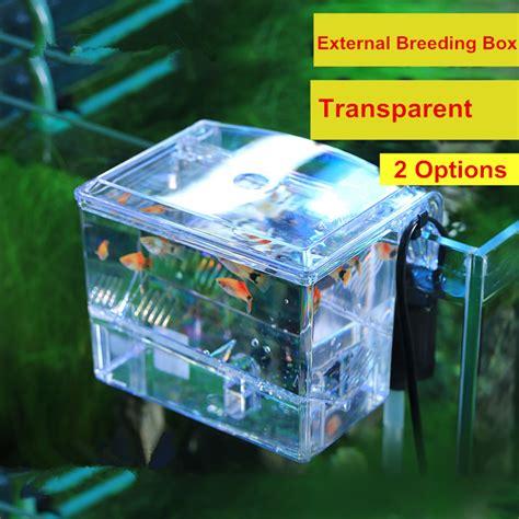 Best Box Arcylic Aquarium External Hang On Small Fish new arrival wall hanging external box transparent