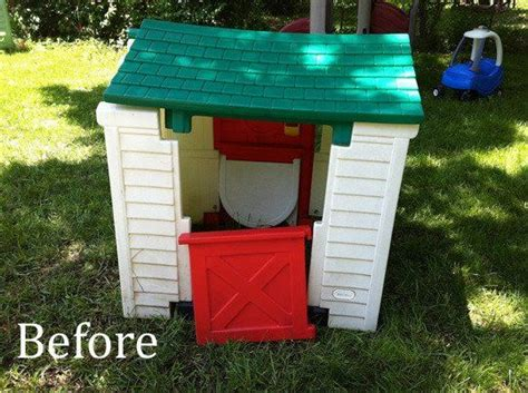 tikes green roof playhouse two tremendous tikes makeovers my great outdoors