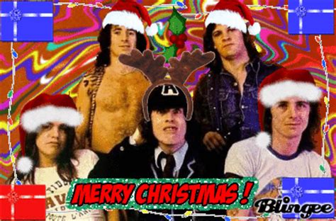 merry christmas acdc picture  blingeecom