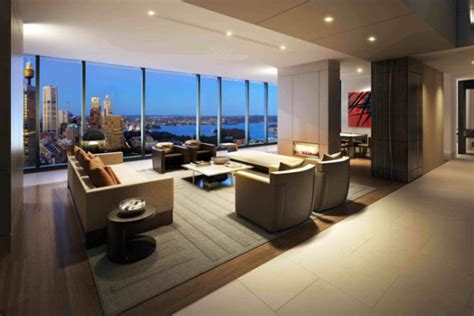 for luxury penthouse apartment in sydney the hyde luxury apartment building arhitektura