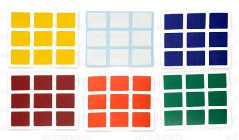 Aufkleber Cube by Magique Cube Couleurs Magic Rubik Cube Autocollant Sticker