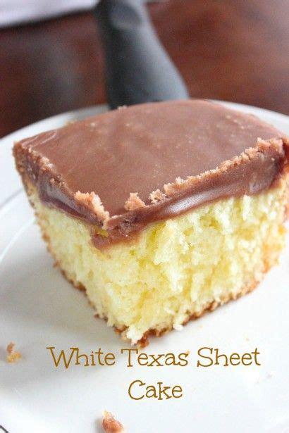 cooking light texas sheet cake white texas sheet cake with chocolate fudge frosting recipe