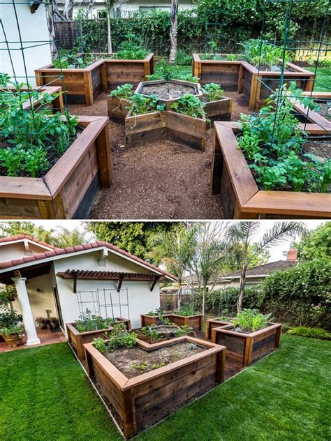 Raised Bed Garden Ideas How To Build A U Shaped Raised Garden Bed Icreatived